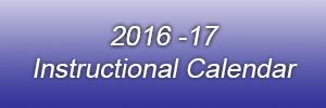 instructional calendar